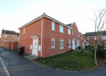 Thumbnail 3 bed end terrace house for sale in Wentworth Close, Gainsborough
