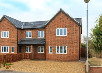 Thumbnail 4 bed semi-detached house for sale in Holt Road, Horsford, Norwich