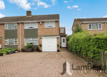 Thumbnail 4 bed semi-detached house for sale in Forge Mill Road, Redditch