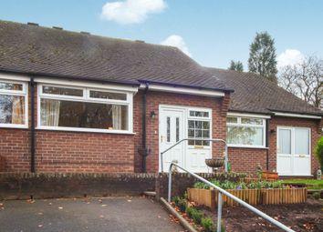 Thumbnail Terraced bungalow for sale in Morridge View, Cheddleton, Leek