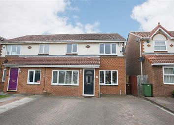 Thumbnail 3 bedroom property for sale in Bramley Court, High Heaton, Newcastle Upon Tyne
