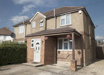 Thumbnail 3 bed semi-detached house for sale in Pinewood Avenue, Uxbridge