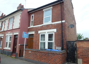 Thumbnail 3 bed end terrace house to rent in Gresham Road, Derby