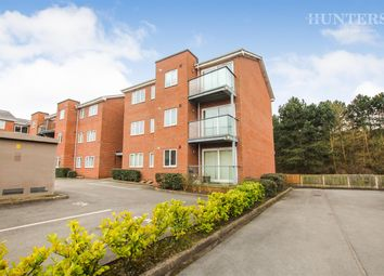 Thumbnail 2 bed flat for sale in Wessex Court, Sunny Bank, Stoke On Trent, Staffordshire