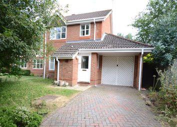 Thumbnail 3 bed semi-detached house for sale in Montague Close, Wokingham, Berkshire
