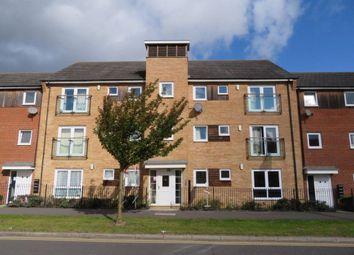 Thumbnail 2 bed flat to rent in Clayburn Road, Hampton, Peterborough