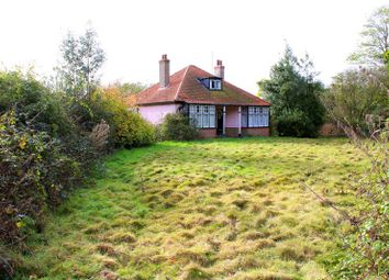 Thumbnail 2 bed detached bungalow for sale in Wrabness Road, Ramsey, Harwich