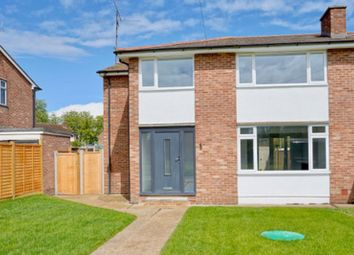 Thumbnail 4 bed semi-detached house for sale in Moat Lane, Perry, Huntingdon.
