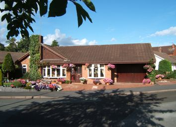 Thumbnail 4 bedroom detached bungalow for sale in Spinney Drive, Weston, Crewe, Cheshire