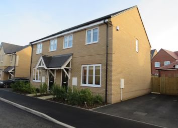 Thumbnail 3 bed semi-detached house for sale in Myrtlewood Road, Bury St. Edmunds