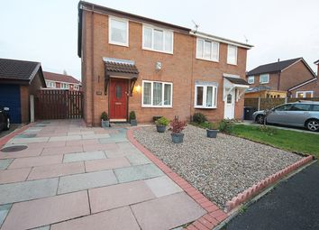 Thumbnail 3 bed semi-detached house for sale in Oban Grove, Fearnhead, Warrington