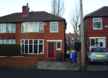Thumbnail 4 bedroom property to rent in Parsonage Road, Withington, Manchester