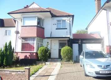 3 bed detached house for sale in The Crossways, Wembley, Middlesex HA9