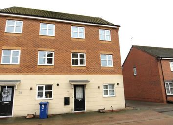 Thumbnail 4 bed semi-detached house to rent in Hevea Road, Stretton, Burton-On-Trent