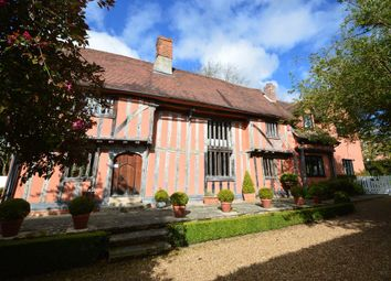 Thumbnail 6 bed detached house for sale in Hundon, Sudbury, Suffolk
