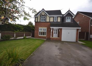 Thumbnail 4 bed detached house for sale in Nevada Close, Great Sankey, Warrington