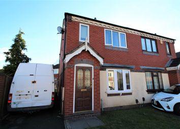 Thumbnail 2 bed semi-detached house for sale in Brueton Drive, Erdington, Birmingham