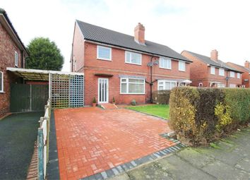 Thumbnail 3 bed semi-detached house for sale in Derby Road, Golborne, Warrington