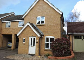 Thumbnail 1 bed link-detached house to rent in Shelley Close, Downham Market
