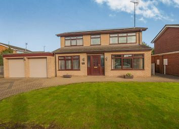 Thumbnail 4 bed detached house for sale in Ladywood Road, Spalding