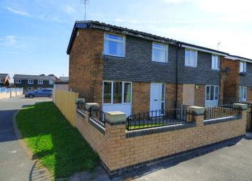Thumbnail 2 bed semi-detached house to rent in Chequers Close, Pontefract