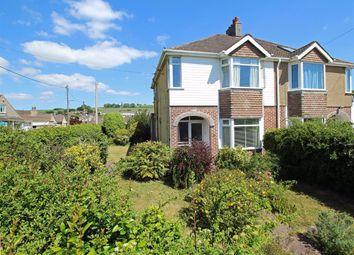 3 bed semi-detached house for sale in Lucas Lane, Plympton, Devon PL7