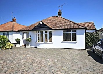Thumbnail 4 bed detached bungalow for sale in Bower Hill, Epping, Essex