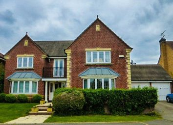 Thumbnail 5 bed detached house for sale in Cherrydale Court, Littleover, Derby