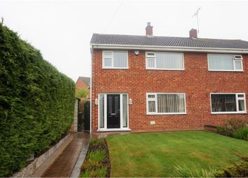 Thumbnail 3 bed semi-detached house for sale in Westbury Road, Shrewsbury