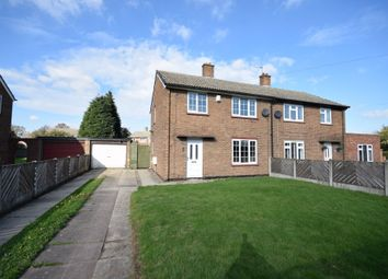 Thumbnail 3 bed semi-detached house for sale in The Oval, Beal, Goole
