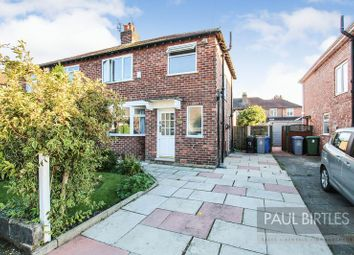 Thumbnail 3 bed semi-detached house for sale in Heston Drive, Urmston, Manchester