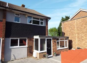 Thumbnail 4 bed end terrace house for sale in Hawthorn Road, Rochester, Kent