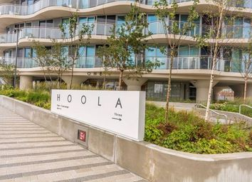 Thumbnail 2 bed flat for sale in Hoola East Tower, Tidal Basin, Royal Victoria, London