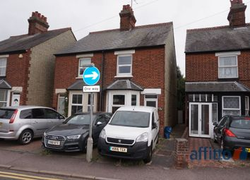 Thumbnail 2 bed semi-detached house to rent in Saffron Road, Biggleswade