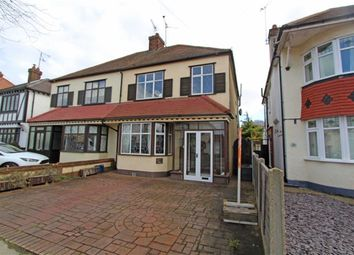 Thumbnail 3 bed semi-detached house to rent in Rutland Avenue, Southend On Sea, Essex