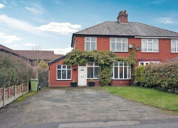 Thumbnail 3 bed semi-detached house for sale in Manchester Road, Lostock Gralam, Northwich