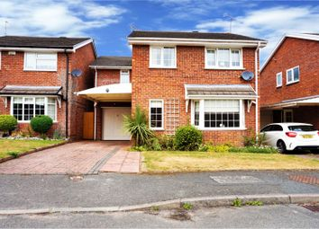 Thumbnail 4 bed detached house for sale in Laurel Close, Wrexham