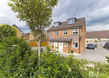 Thumbnail 3 bed semi-detached house for sale in Bunkers Crescent, Bletchley