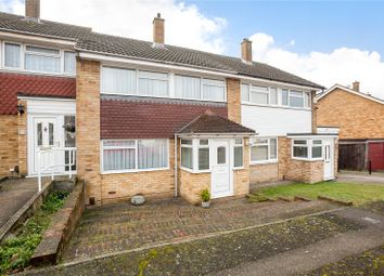 Thumbnail 3 bed terraced house for sale in Bakerhill Close, Northfleet, Kent