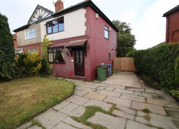 Thumbnail 2 bed semi-detached house for sale in Finsbury Road, Reddish, Stockport, Cheshire