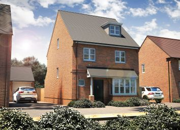 "Thumbnail 4 bed detached house for sale in ""The Hemsley"" at Winchester Road, Boorley Green, Botley"