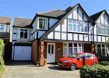 Thumbnail 4 bed semi-detached house for sale in Church Avenue, Higham Park, London