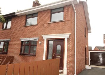 Thumbnail 3 bed semi-detached house to rent in Kipkarren Park, Conlig, Newtownards