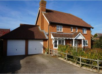 Thumbnail 4 bed detached house for sale in Plover Road, Folkestone