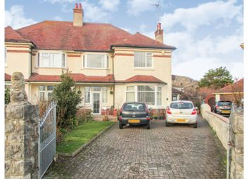Thumbnail 4 bed semi-detached house for sale in The Oval, Llandudno