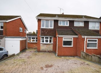 Thumbnail 3 bedroom semi-detached house for sale in Dalehouse Road, Cheddleton, Leek