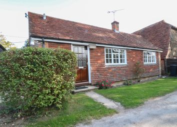 Thumbnail 1 bed detached bungalow to rent in Plaistow Road, Kirdford, Billingshurst