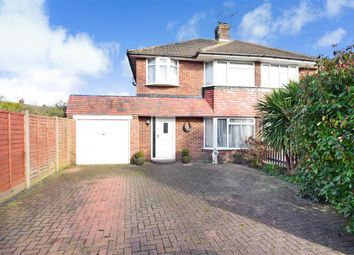 Thumbnail 3 bed semi-detached house for sale in Prinsted Crescent, Farlington, Portsmouth, Hampshire