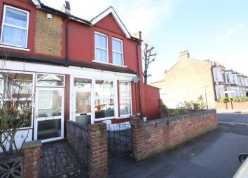Thumbnail 3 bed end terrace house for sale in Manor Road, Leyton, London