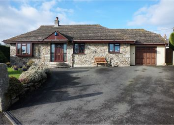 Thumbnail 5 bed detached bungalow for sale in North Hill, Launceston
